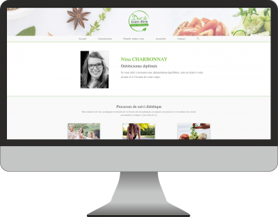 creation site internet cabinet dietetique natuopathie